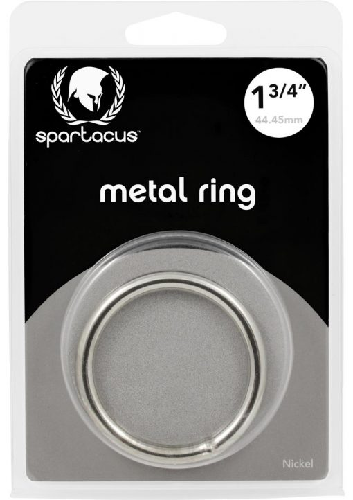 Metal Cock Ring 1.75 Inch Nickel