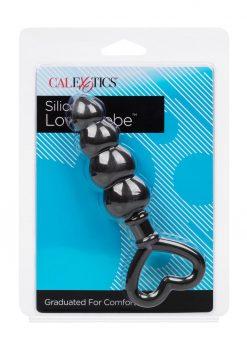 Silicone Love Probe Silicone Waterproof Black