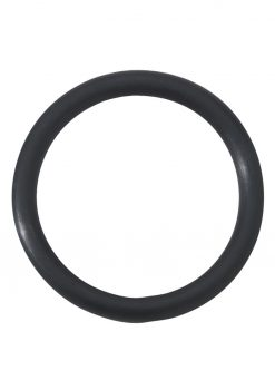 Rubber Cock Ring 1.5 Inch Black