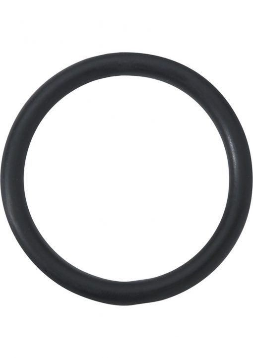 Rubber Cock Ring 2 Inch Black