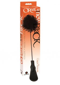 Orange Is The New Black Riding Crop and Feather Tickler