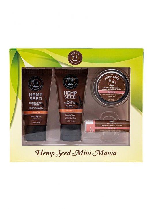 Hemp Seed Mini Mania Isle Of You Gift Set