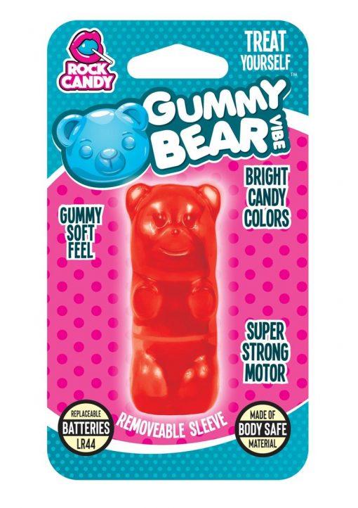 Rock Candy Gummy Bear Vibe Splashproof Red