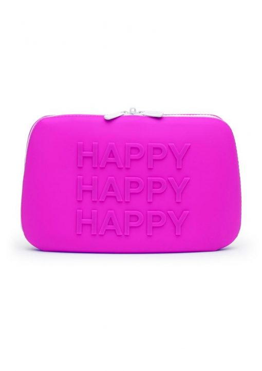 Happy Rabbit Happy Storage Zipbag  Silicone Purple