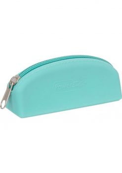 PowerBullet Silicone Storage Bag With Zipper Teal