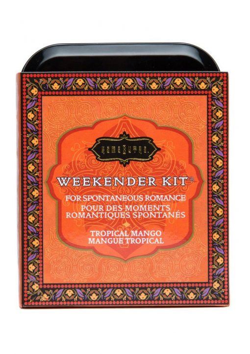 Weekender Kit Couples Romance Bath and Shower Tropical Mango