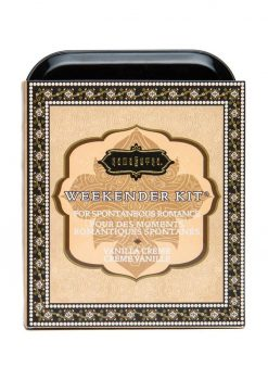 Weekender Kit Couples Romance Bath and Shower Vanilla Creme