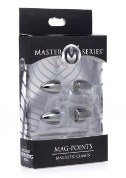 Master Series Mag-Points Magnetic Nipple Clamp Set