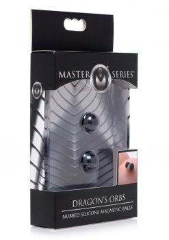 Master Series Dragons Orbs Nubbed Silicone Magnetic Balls