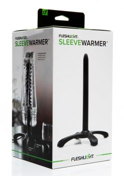 Fleshlight Sleeve Warmer With USB Cable Masturbator Accessory Black