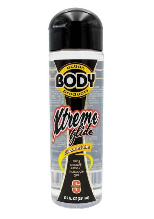 Body Action Extreme Glide Silicone Based Lubricant 8.5 Ounce