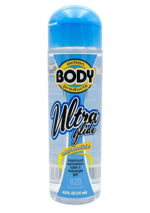 Body Action Ultra Glide Water Based Lubricant 4.4 Ounce