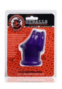 Oxballs Powersling Cock and Ball Stretching Sling Purple