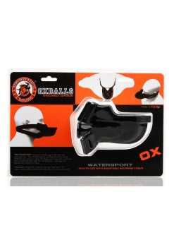 Oxballs Watersport Strap-on Mouth Gag Adjustable Black