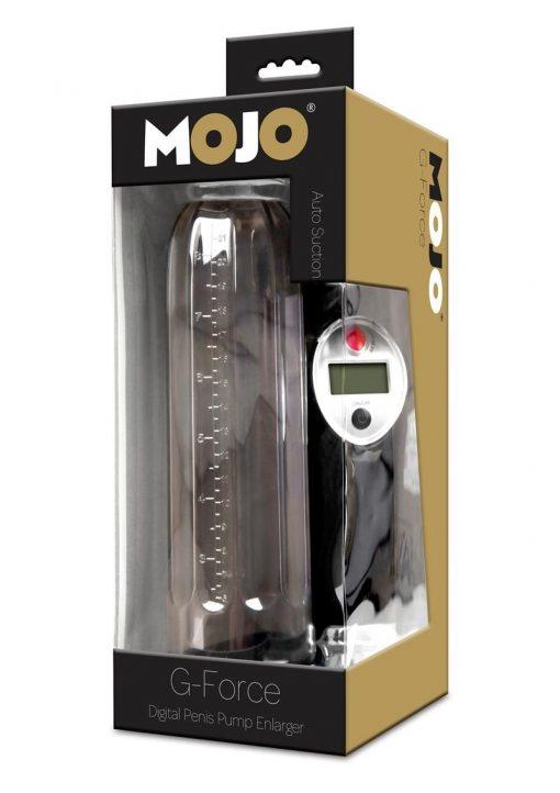 Mojo G Force Digital Penis Pump Enlarger Waterproof