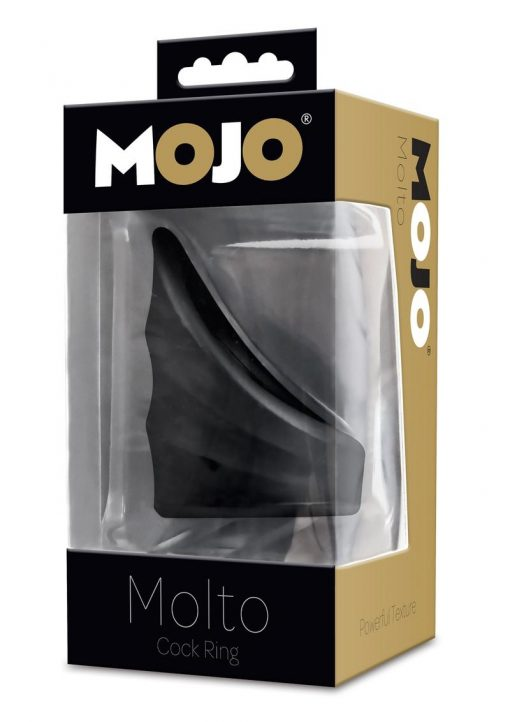 Mojo Molto Cock Ring Powerful Texture Waterproof