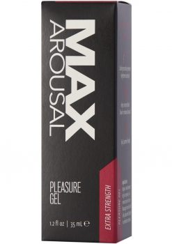 Max Arousal Pleasure Gel Extra Strength 1.2 Oz
