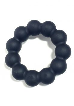Bone Yard Meat Ballz Silicone Cock Ring Black