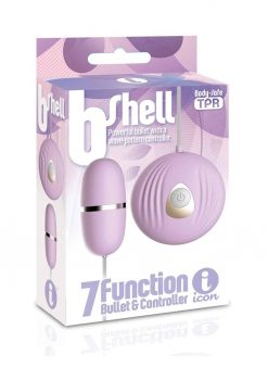 B-Shell 7 Function Bullet and Controller Purple