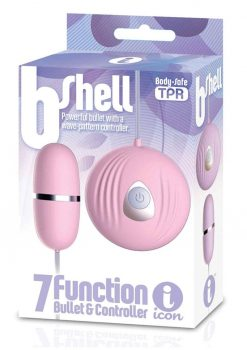 B-Shell 7 Function Bullet and Controller Pink