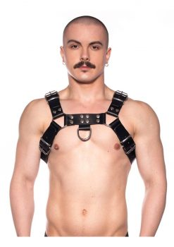 Prowler Red Bull Harness Blk/silv Xxlg