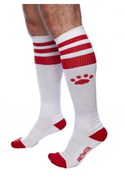 Prowler Red Football Socks Wht/red