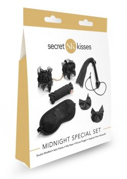 Secret Kisses Midnight Special Set Bondage Collection