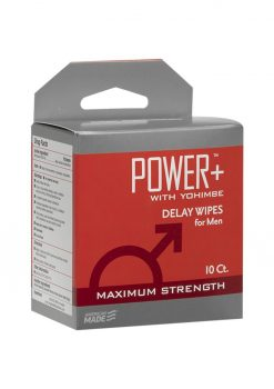 Power With Yohimbe Delay Wipes 10ct Box
