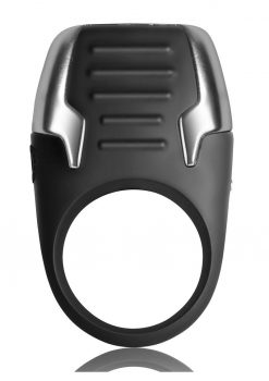 Xerus The Ultimate Power To Your Pleasure Vibrating Cockring  Waterproof Rechargeable Black