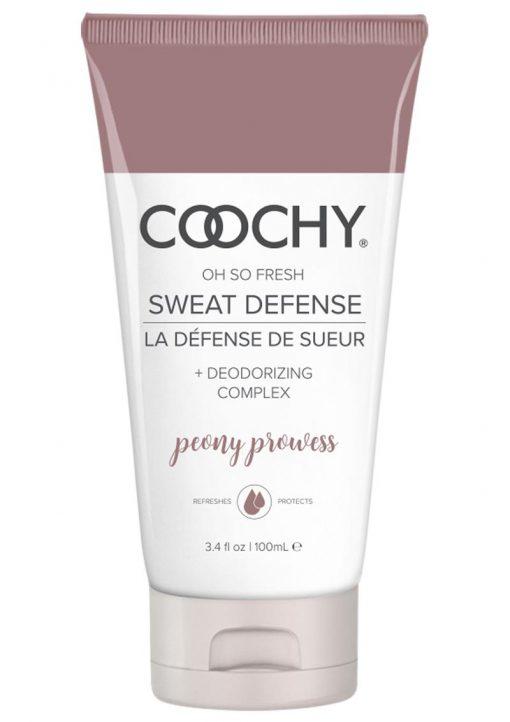 Coochy Defense Lotion Peony 3.4 Oz