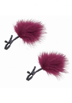 Sandm Enchanted Feather Nipple Clamps