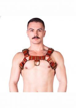 Prowler Red Butch Harness Brn/brs Lg