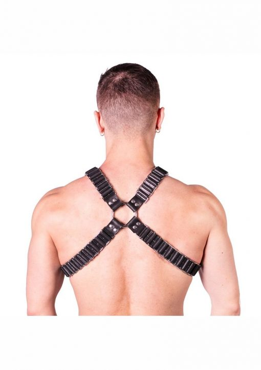 Prowler Red Ballistic Harness Blk/sil Lg