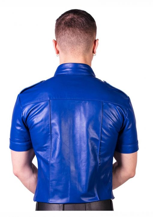 Prowler Red Slim Police Shirt Blu Sm