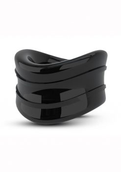 Stay Hard Beef Ball Stretcher Snug Cock Ring Black