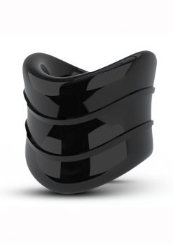 Stay Hard Beef Ball Stretcher Snug X Long Cock Ring Black