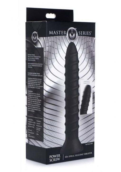 Ms Power Screw Spiral Vibrator