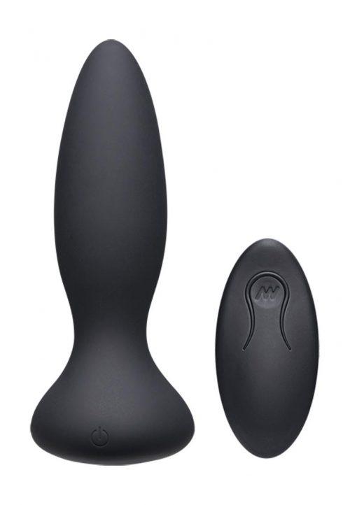 A-play Vibe Advent Plug W/remote Blk