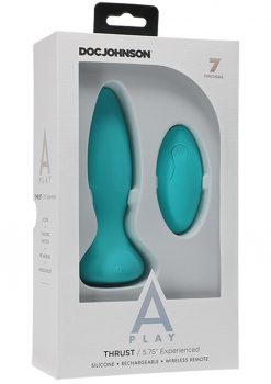 A-play Thrust Experi Plug W/remote Teal