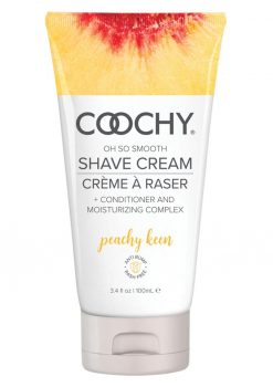 Coochy Oh So Smooth Shave Cream Peachy Keen 3.4 Ounce Tube