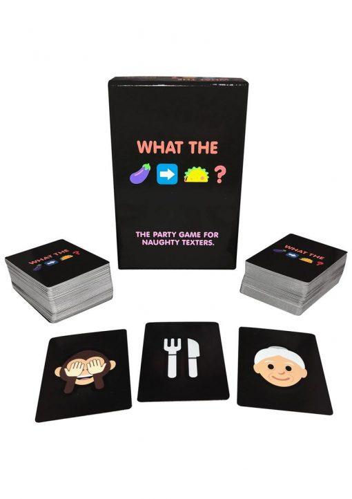 What The Eggplant to Taco Naughty Emoji Card Game.