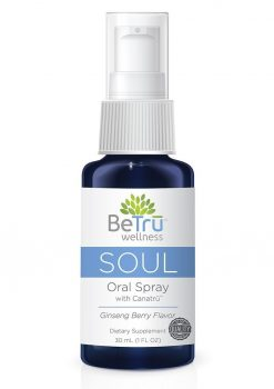BeTru Wellness Soul Oral Spray With Canatru Emulsified Hemp Oil Ginseng Berry 30 Milliliters