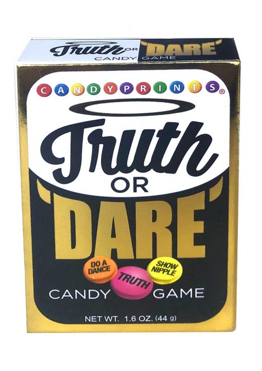 Candy Prints Truth Or Dare Candy Game 1.6 Ounce Box