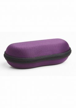 Emojibator Go F Yourself Literally Travel Case Purple 5 Inches