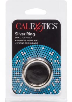 Silver Cock Ring Small 1.75 Inch Diameter Silver