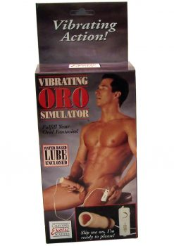 VIBRATING ORO STIMULATOR MULTISPEED IVORY
