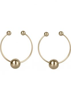 Nipple Rings Non Peircing Gold