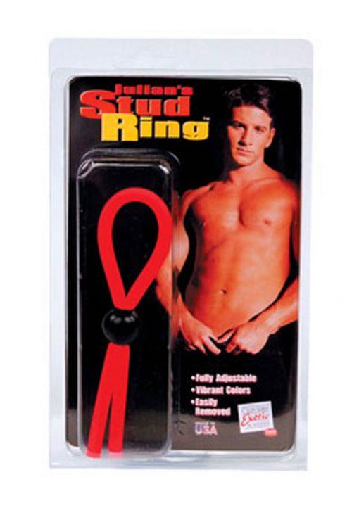 Julians Stud Ring Adjustable 5 Colors