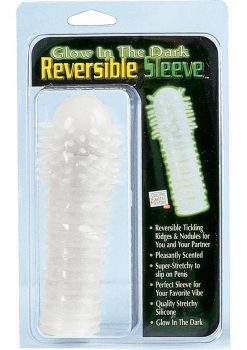 Glow in The Dark Reversible Sleeve 5.5 inch Clear