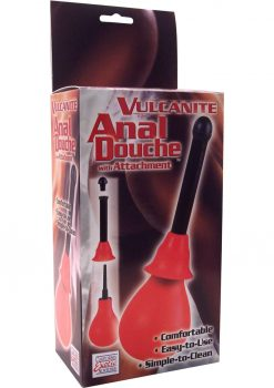Vulcanite Anal Douche With Attachment